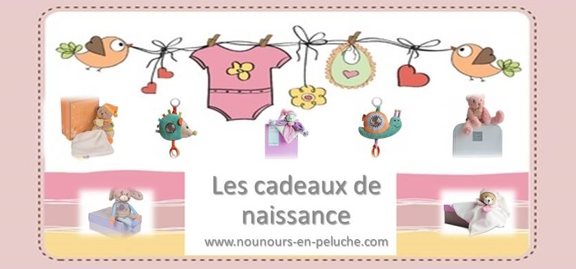Une naissance, comment trouver le doudou idéal … chez www.nounours-en-peluche.com