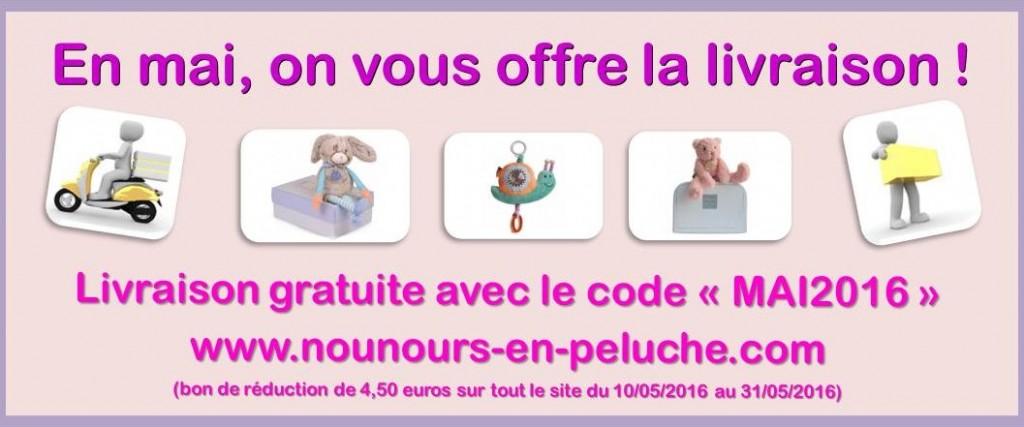 Nounours en peluche magasin de peluches sur internet - Code promo showroom frais de port ...